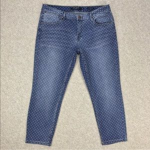 New! Max Jeans Crop Skinny Jeans 14